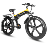 "1000W Foldable Electric Bike with Fat 26"" Tires - THE GOOD TINGZ"