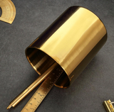 Vintage Brass Pen Holder