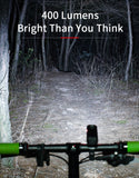Rechargeable LED Headlight for Bikes
