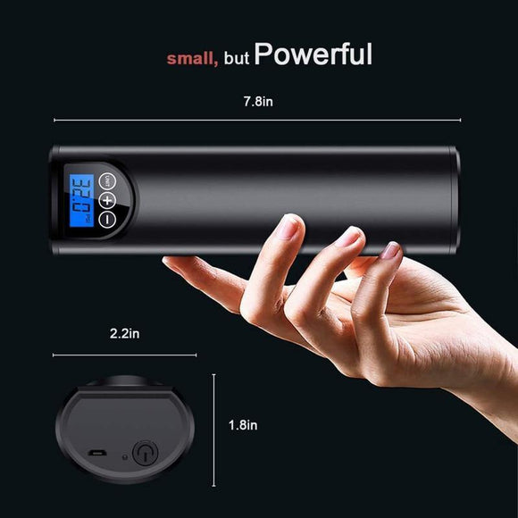 Wireless & Rechargeable Mini Portable Air Inflator With LED Light - THE GOOD TINGZ