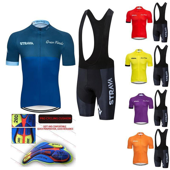 Men's Summer Cycling Jersey Set with 20D Coolmax Gel Breathable Pad - THE GOOD TINGZ