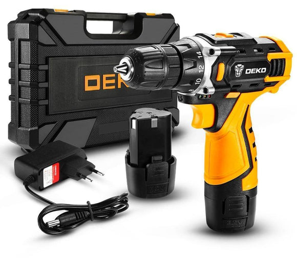 DEKO New Series Cordless Drill & Screwdriver - THE GOOD TINGZ