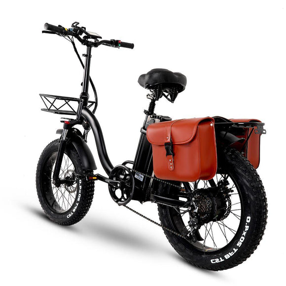 750W Folding Electric Snow Bike with Fat 20