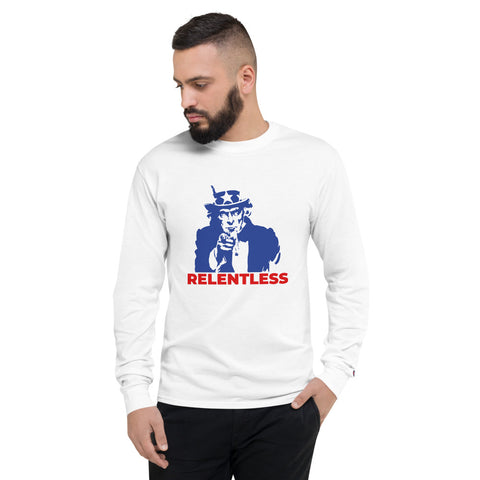 Relentless Uncle Sam Long Sleeve Tee