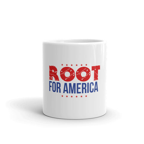 Root for America Red-White-and-Blue Mug