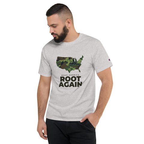 Make America Root Again Camo Short Sleeve Tee