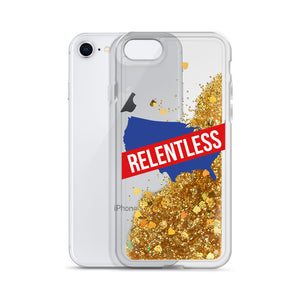 Relentless America Liquid Glitter Phone Case