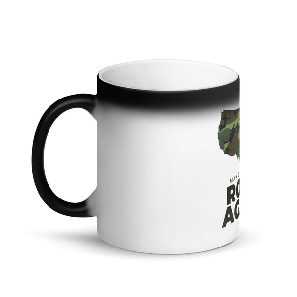 Make America Root Again Camo Matte Black Magic Mug