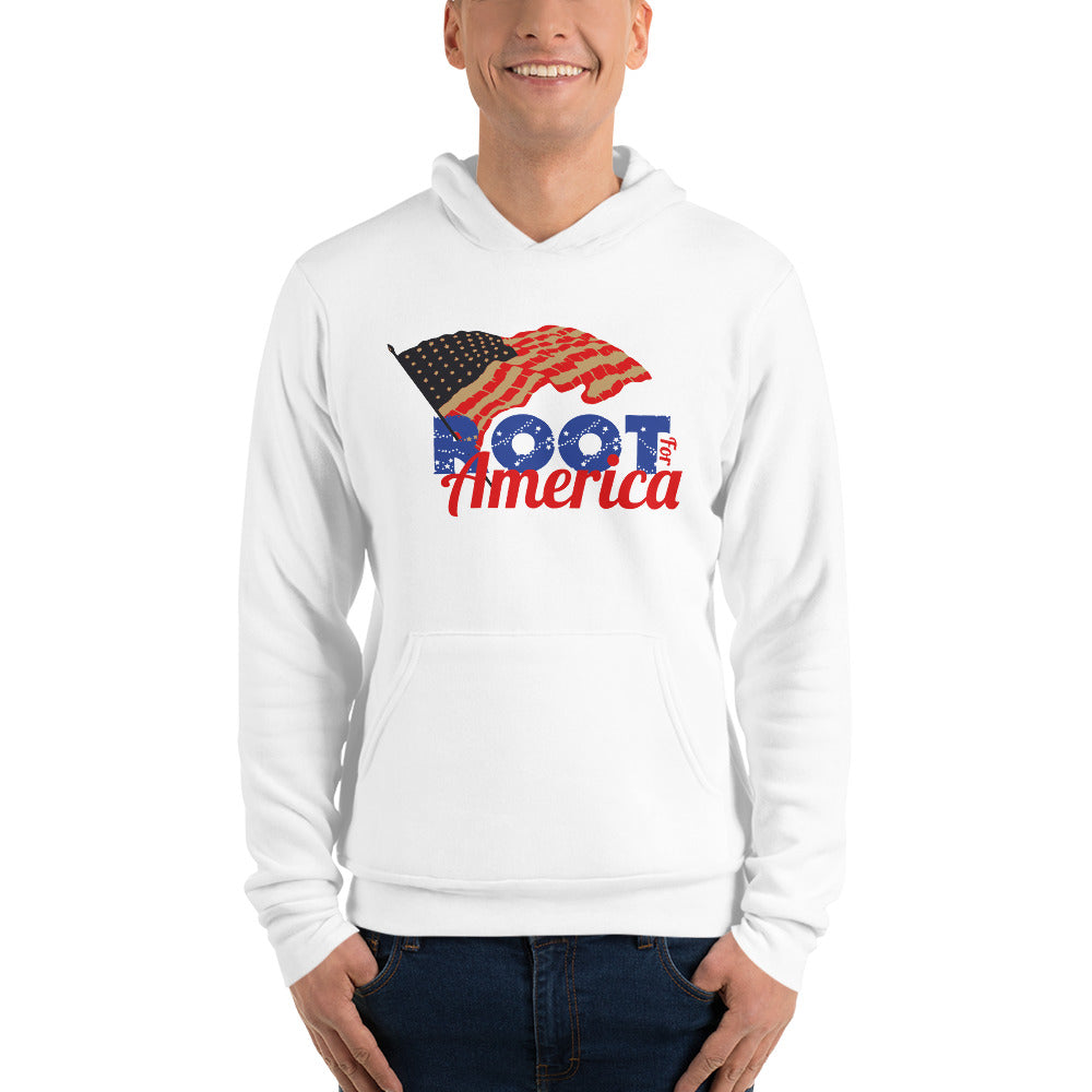 Root for America Stars & Stripes Unisex Hoodie