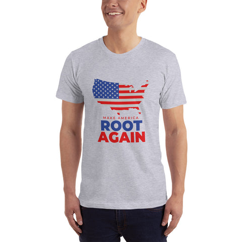 Make America Root Again Stars & Stripes Short Sleeve Tee