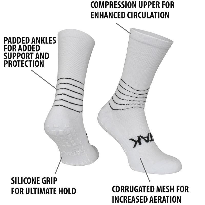 C-GRIP SOCKS WHITE