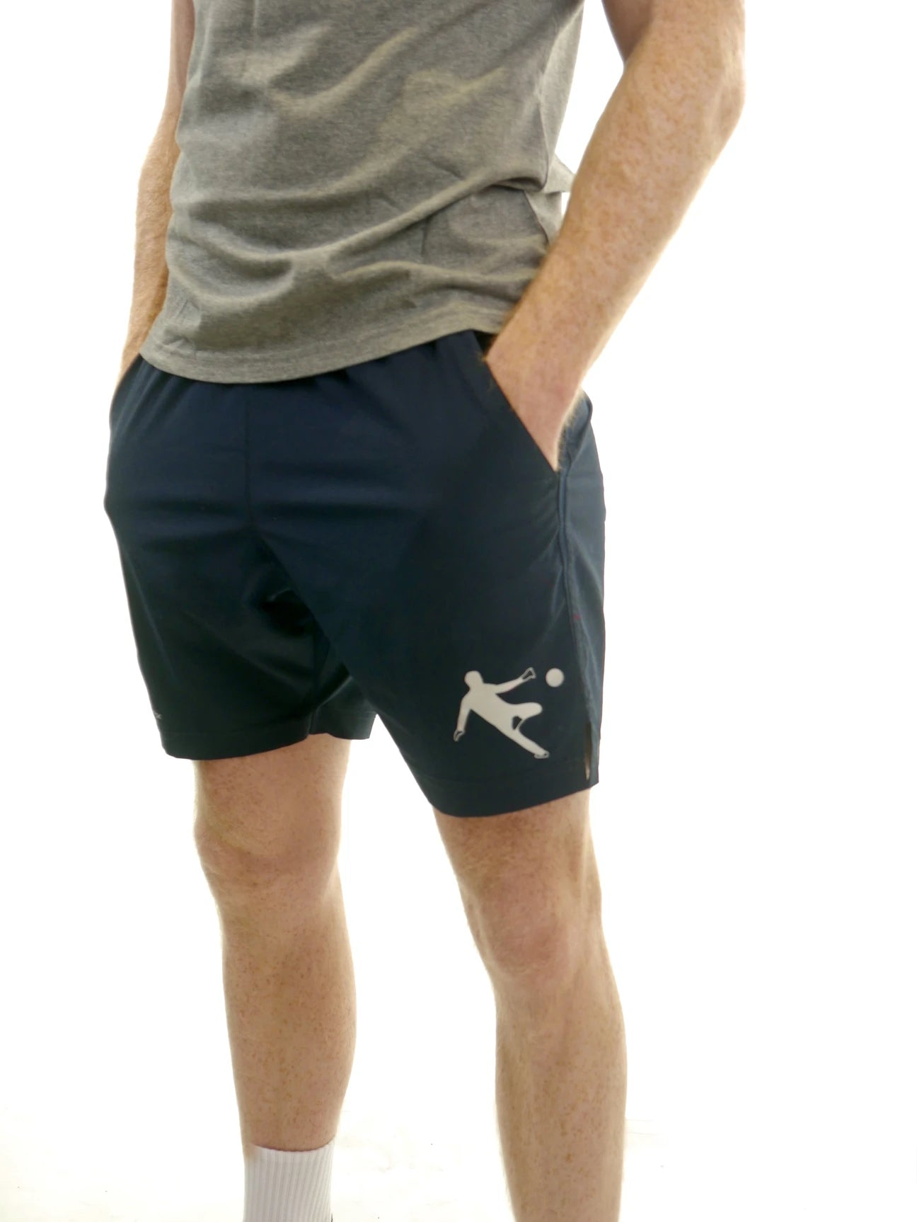 Kids Woven Training Shorts Navy