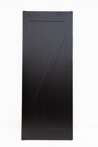 Manolo Black Barn Door