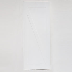Manolo White Barn Door