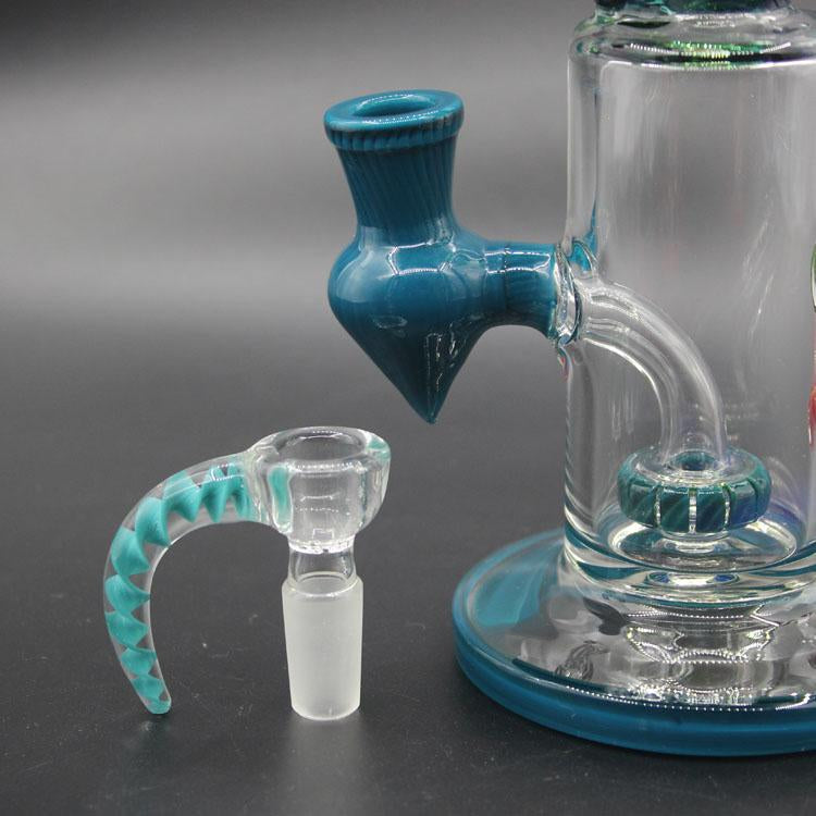 14mm Joint glass bong bowl Cute Octopus Design Smoking