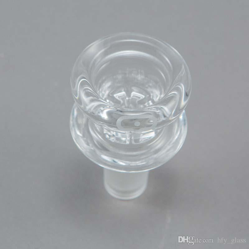 201 New design mobius glass bowl with 14mm 14.4mm male joint glass smoking bowl 18.8mm 18mm size smoking accessories wholesale free shipping