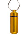 Key Chain Stash Jar Yellow