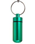 Key Chain Stash Jar Green