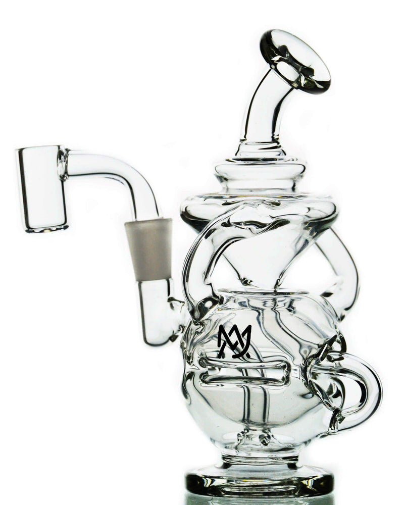 Clear Glass Mini Dab Rig