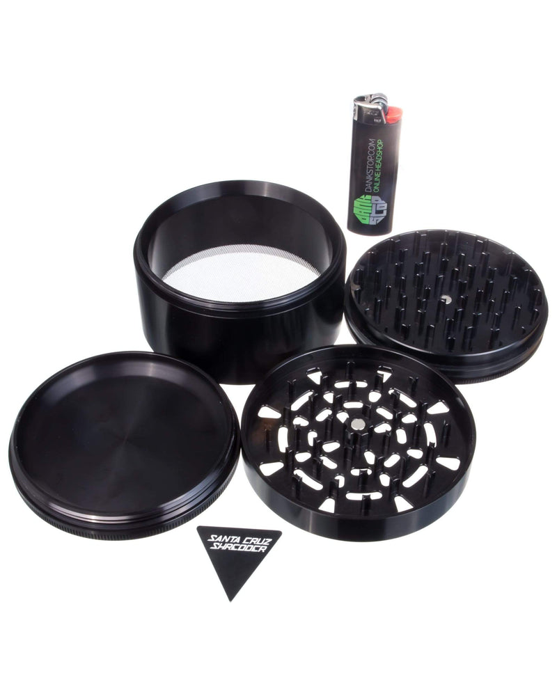 Santa Cruz Shredder - Jumbo 4 Piece Herb Grinder