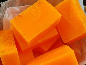Yabari Cantaloupe Triple Butter bar Excellent for eczema and dark marks!!!!