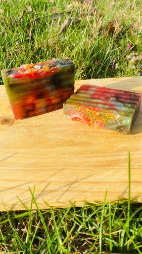 Yoni Rancher Strawberry Infused Bar Plus Vitamin C - {{ soapsforyoni.com}}