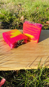 Fresh Rose And Lemon Vitamin C Infused Yoni Bar - {{ soapsforyoni.com}}