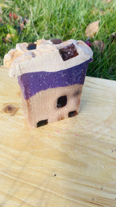 Blueberry Shortcake Soap Bar - {{ soapsforyoni.com}}