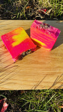 Load image into Gallery viewer, Fresh Rose And Lemon Vitamin C Infused Yoni Bar - {{ soapsforyoni.com}}