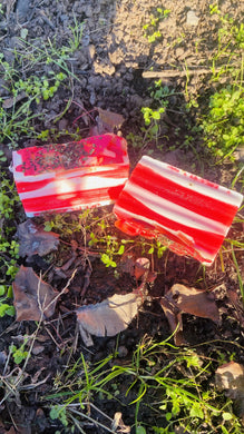 Holiday Peppermint Infused Anti Nasal Congestion Bar - {{ soapsforyoni.com}}
