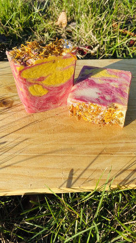 Clean Cherry Blossom Yoni Bar Vitamin E - {{ soapsforyoni.com}}