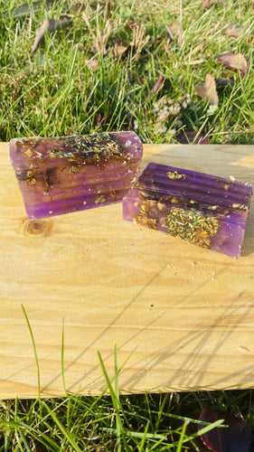 Lavender Vitamin C And Herbal Infused Soap - {{ soapsforyoni.com}}
