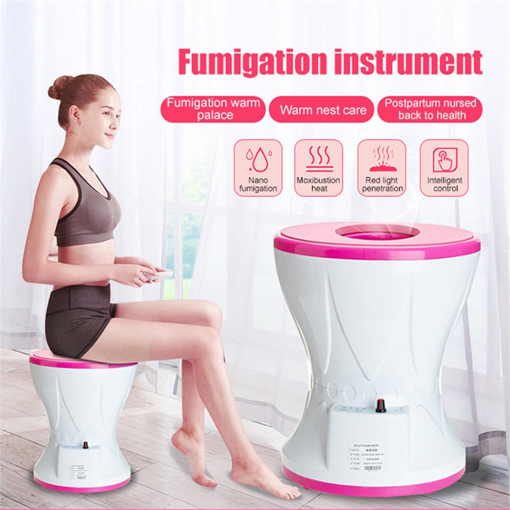 Yoni Vagina Mini Steamer Sitting Gynecological Andrology Reproductive Steam Seat Fumigation Instrument Women Health Care