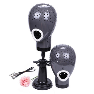 Wig Head Drying Unit For Lace Wig Scalp Cap Net Hair Dryer