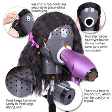Load image into Gallery viewer, Wig Head Drying Unit For Lace Wig Scalp Cap Net Hair Dryer