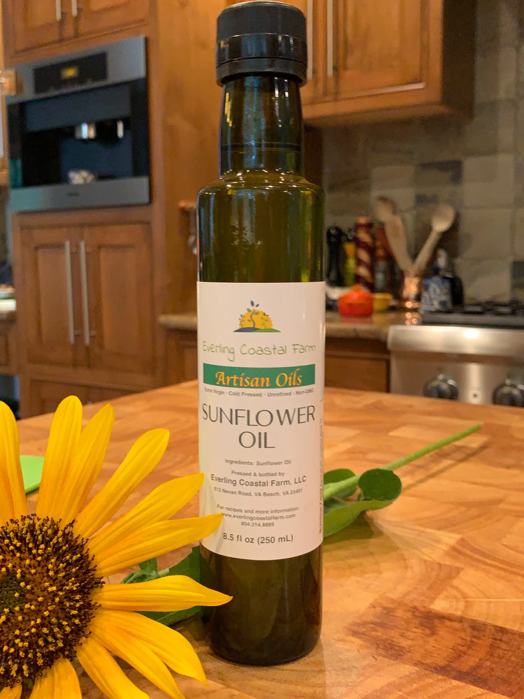Extra Virgin Cold Pressed Sunflower Oil