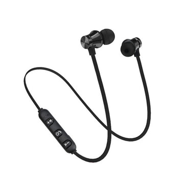 XT-11 Bluetooth 4.2 Stereo Earbuds Earphone X11 Wireless Magnetic In-Ear Headphone Magnet