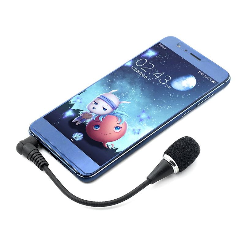 Universal 3.5 Mm Audio Jack Mini Gooseneck/Lapel Clip-on Lavalier Mic Microphone For Smart Phone Laptop Ipad Speeches Lectures