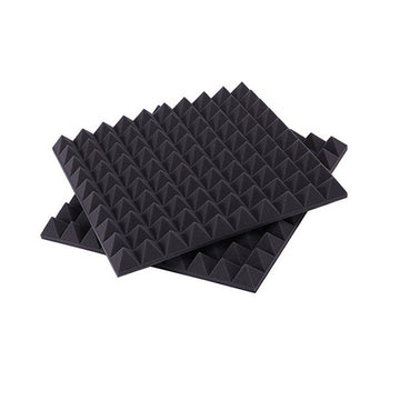 Universal Studio Acoustic Absorber Foam for Speaker Box Cabinet Black Bluk