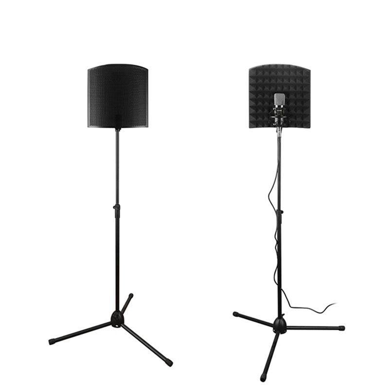 VocalShield VS1 Foldable Stand-Mounted Acoustic Shield Pop Filter Microphone Recording