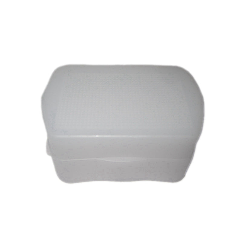 White Flash Bounce Diffuser Cover For Canon 580EX 580EX II YN560 YN560 II Camera Replacement