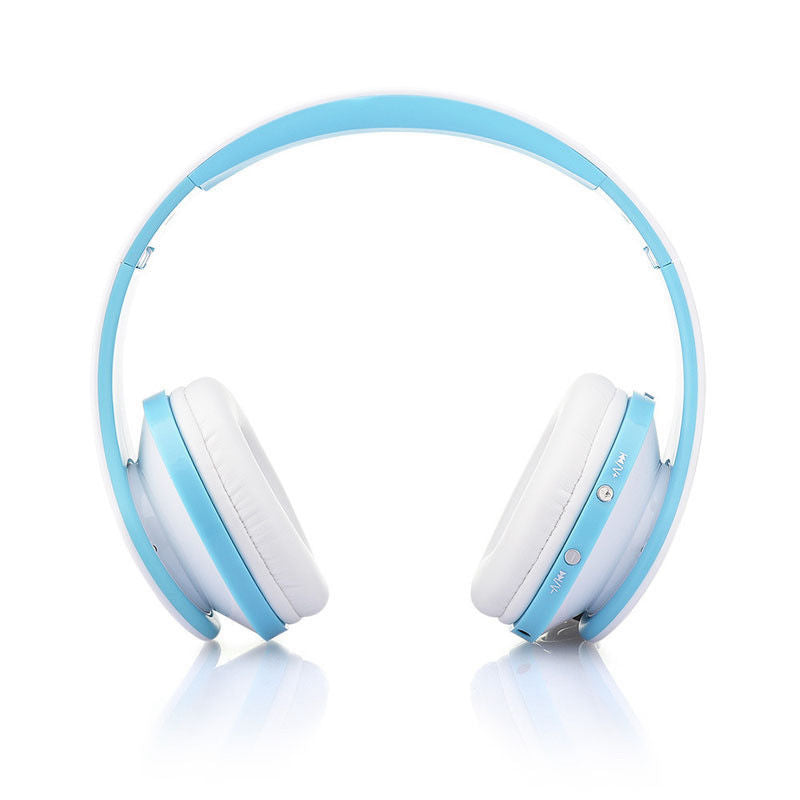 Wireless Bluetooth Stereo Headset Foldable Headphone Earphone for iPhone Samsung IOS