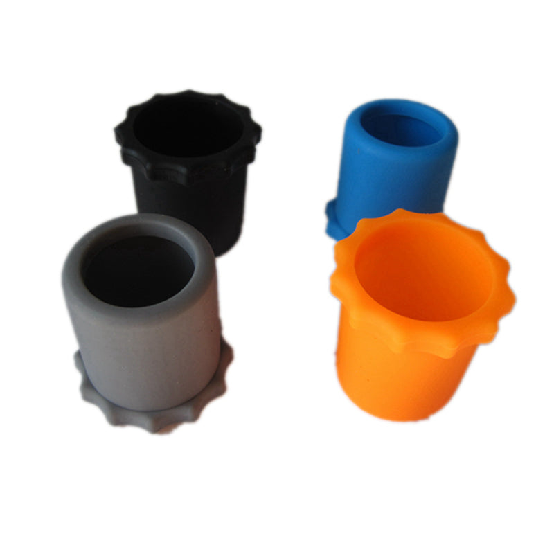 Silicon Microphone Anti-rolling Protect Ring Wireless 35mm Bottom Rod Sleeve Silicone Shakeproof Protection Sleeve