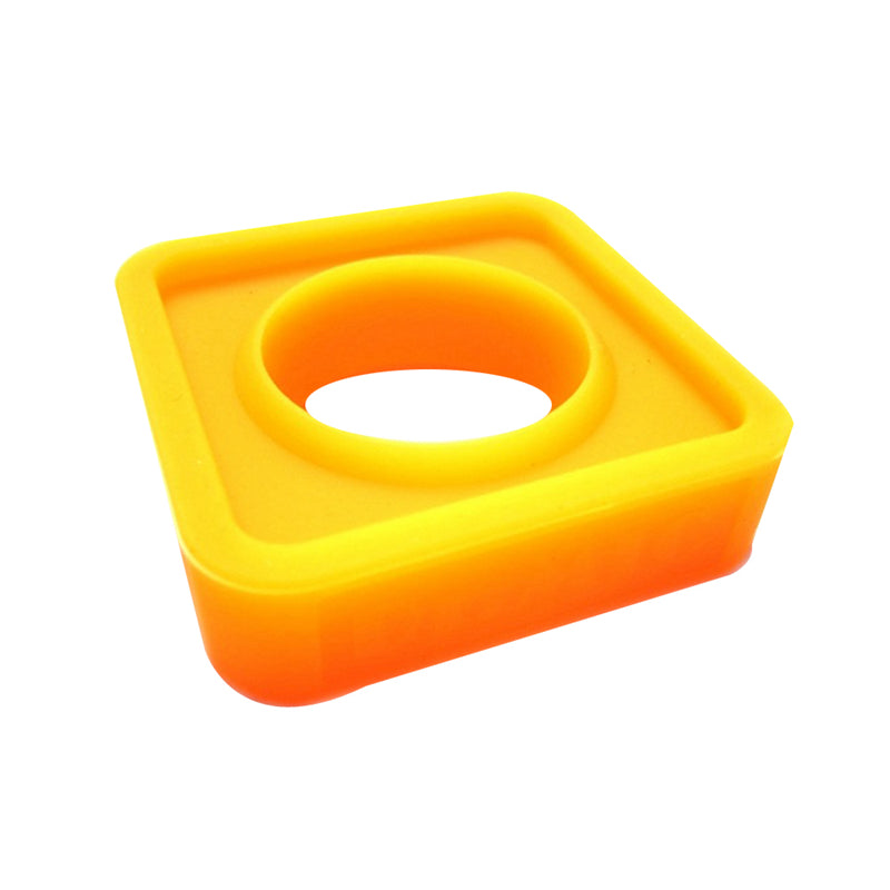 Silicon Thickening Rubber Wirelss Wired Microphone Ring Slip Holder Protection 35mm Square KTV