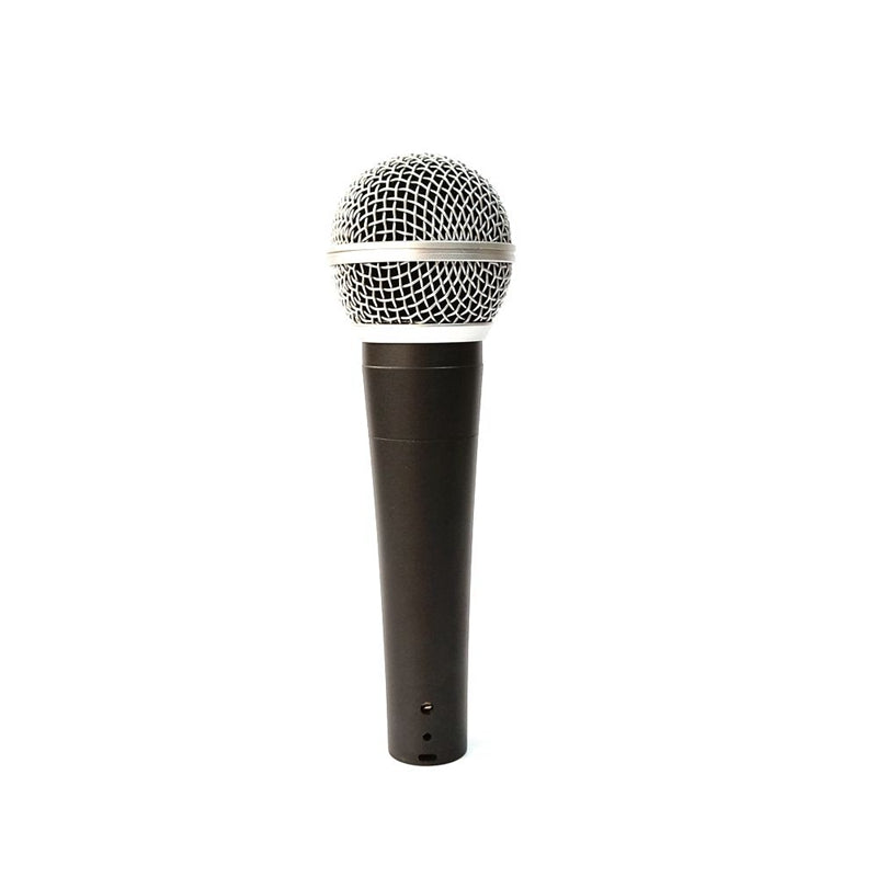 SM Wired Dynamic Instrument Vocal Microphone WGT-58 with Cable Classic Traditional Handheld