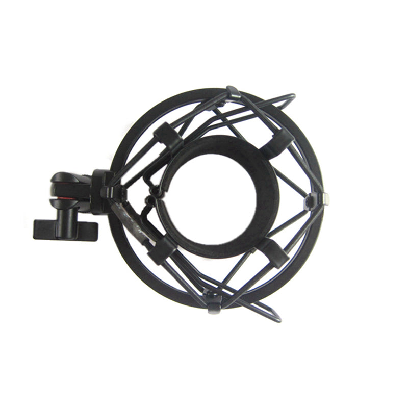 Spider Large Diaphragm Condenser Microphone Shock Mount Holder Clip Anti-Vibration Suspension High Isolation for At2020 BM800 4.5CM 5.0CM