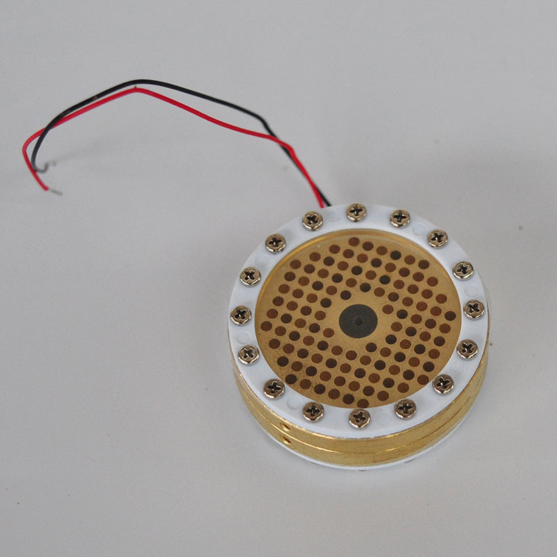 Replacement Universal Condenser Capsule 34mm 24k Gold Capsule Large Diaphragm Microphone Cartridge Core Recording