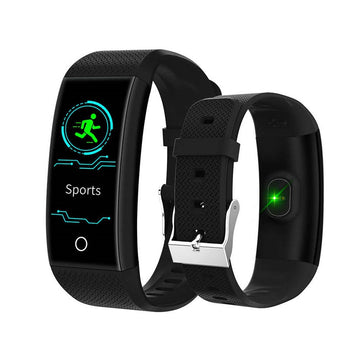 QW18 Smart Watches Fitness Bracelet Smart Band Pedometer Bracelet Heart Rate Monitor IP68 Waterproof Tracker Intelligent Clock