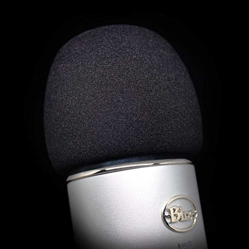Recording Foam Windscreen Filter Sponge Cover for Blue Yeti Microphone MXL Audio-Technica Large
