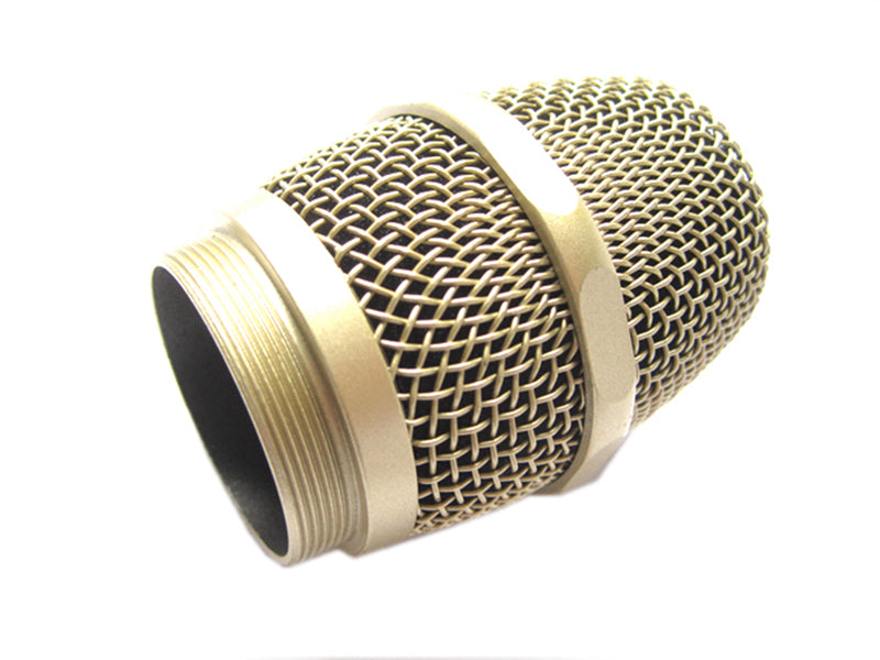 Replacement Ball Head Mesh Grille Microphone Wireless UHF Dent Resistant
